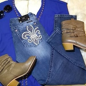 Miss Me Jeans Size 31/32 Skinny Mid